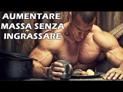 come crescere massa muscolare
