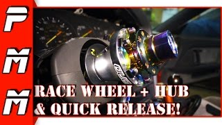 How To Install A Steering Wheel Hub & Quick Release 1JZGTE MKIII Supra Drift Missile DND Performance