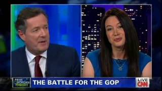 Carol Roth Piers Morgan CNN on Auto Industry Bailout GOP