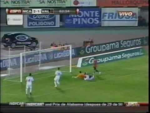 Ever Banega vs. Unai Emery, Mallorca vs. Valencia, temporada 2009-10, ESPN Deportes