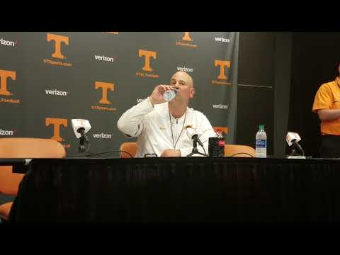 Jeremy Pruitt - Tennessee HC (spring game post)