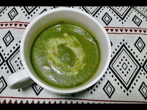 Spinach and Carrot Soup