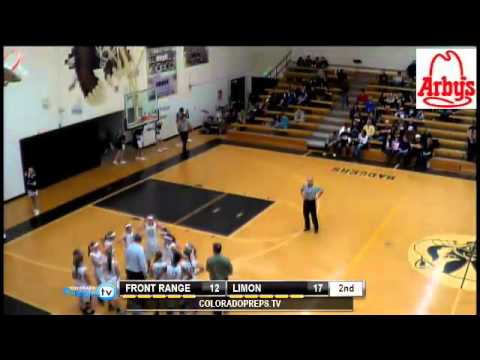 Varsity Girls Basketball - Front Range Christian School vs Limon   Produced by Colorado Preps