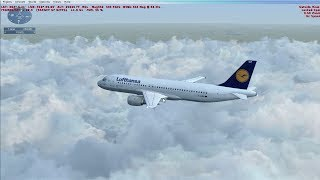 FSX LH044 MUC-HAM HD MAXED OUT HURRICANE LANDING