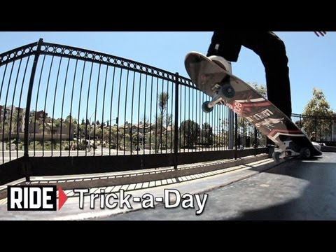 How-To Frontside Crooked Grind With Chris Troy - Trick-a-Day