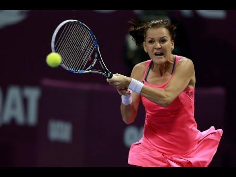 2016 Qatar Total Open Quarterfinal | Agnieszka Radwanska vs Roberta Vinci | WTA Highlights