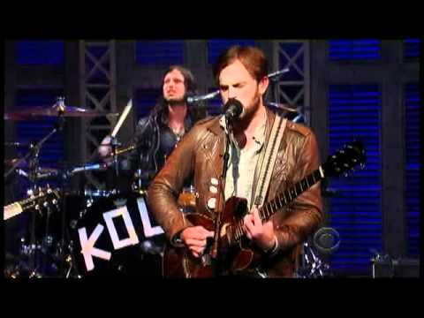 "Kings of Leon - ""Radioactive"" 10/25 Letterman (TheAudioPerv.com)"
