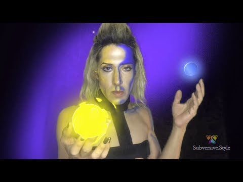 Starlight Beauty Tutorial Look 1: Celestial Body- Lightsource SFX Makeup Tutorial