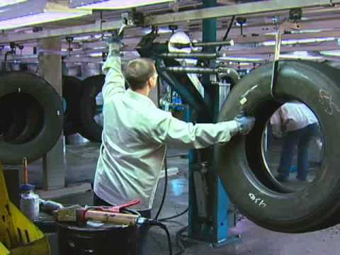 Tire For Less >> Retread Tire Factory Tour, from CalRecycle - YouTube