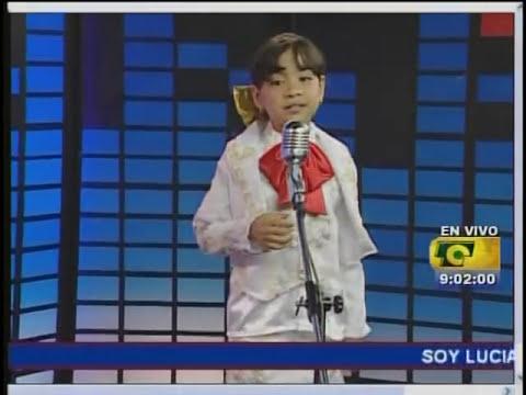 SALOME niña cantante de 8 años sorprendente!