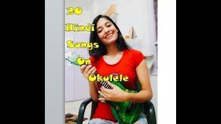Play 20 Hindi songs on Ukulele using 5 Easiest Chords