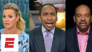 Stephen A. Smith, Michael Wilbon and Michelle Beadle sound off on Kawhi Leonard