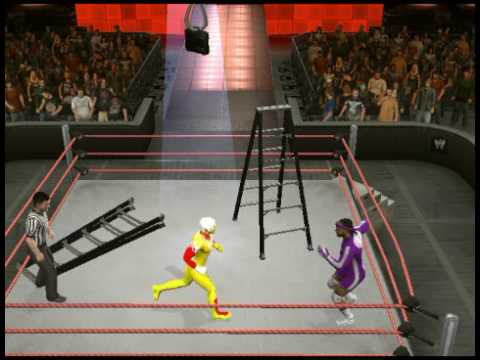 WWE SmackDown vs. RAW 2010 nEw CAW and MVP the ass xDD