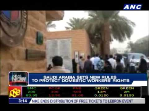 Saudi implements new rules to benefit domestic workers