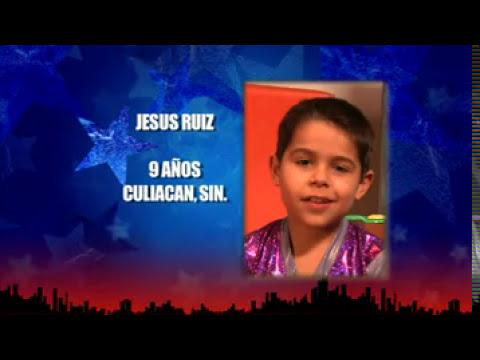 Jesus Ruiz Las Mega Estrellas  Pequeños Gigantes