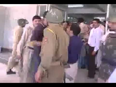 Indian Army Attack on Hospital in kashmir!!!