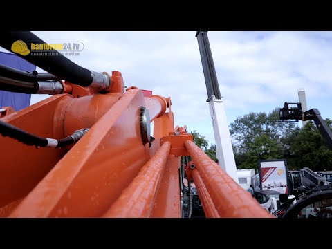 Doosan - Neue Bagger der DX-Serie - DX 140 LCR - Bauforum24 Walkaround - Nordbau 2013