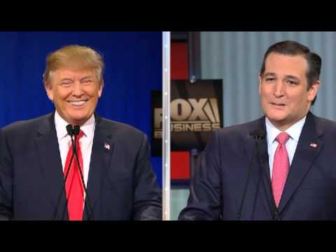 The Full Ted Cruz-Donald Trump Debate Clash over Cruz's Canadian Birth/Citizenship/Eligibility