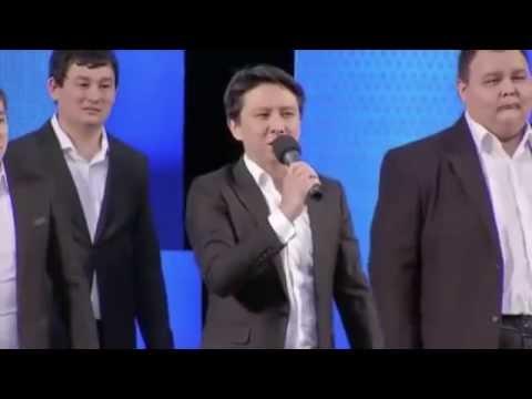 Предвыборный ролик партии Ак Жол.  КВН Сборная городов Казахстана