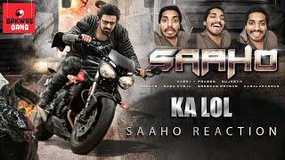 SAAHO Teaser reaction by KA LOL   KA Paul Mimicry   Telugu Comedy