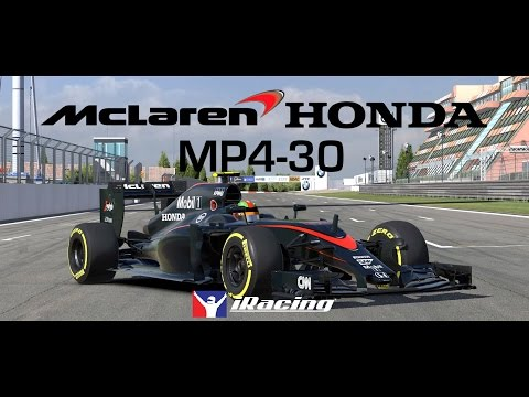 The McLaren-Honda MP4-30 // Available Now on iRacing