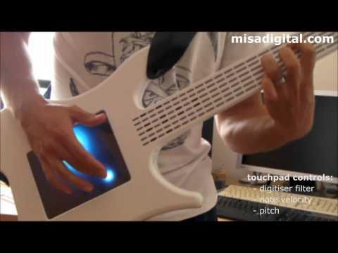 Guitarras - Guitarra digital eléctrica KITARA