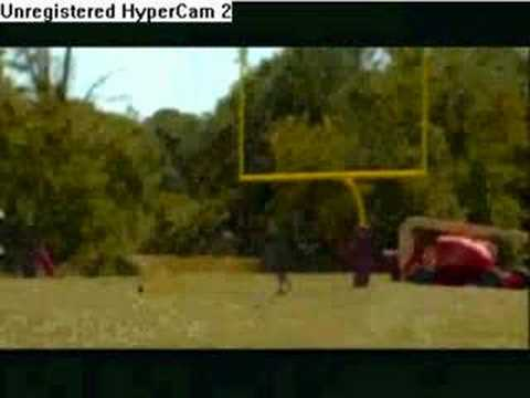 A likely doctored video of a 110 yard field goal by Redskins placekicker, Shaun Suisham. Please leave your comments.