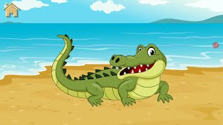 Safari Puzzles Funny Animals Game for Kids #2
