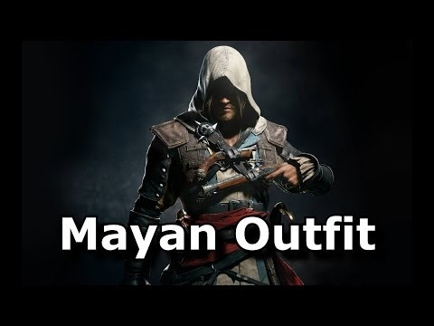 Assassins Creed 4 Black Flag Mayan Outfit