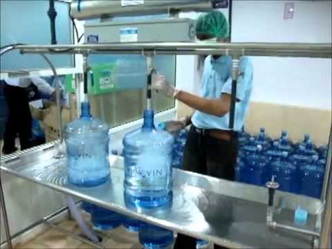 Bottled Water Mineral Water Filling Washing System Youtube