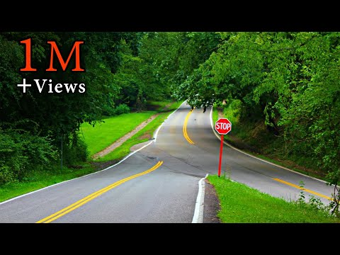 Mysterious Road Defies Gravity in Pittsburgh - Gravity Hill, Pennsylvania