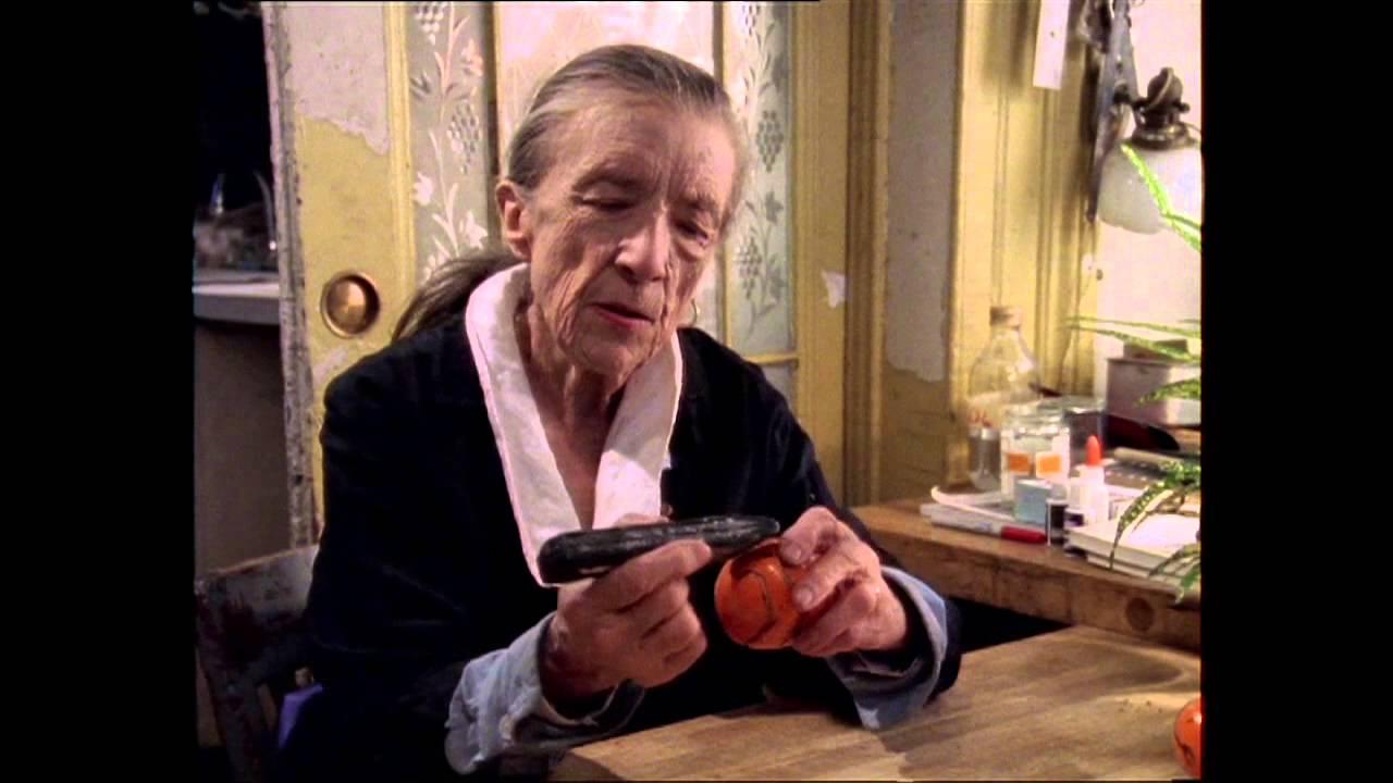 Louise Bourgeois Peels An Orange Youtube