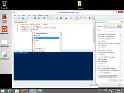 Use PowerShell to Download Files from the Internet –