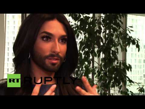 Austria: Conchita Wurst gets political, meets Ban Ki-moon at UN offices