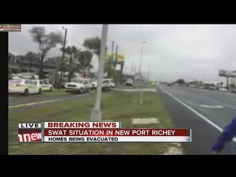 One dead in New Port Richey SWAT situation; two children found injured