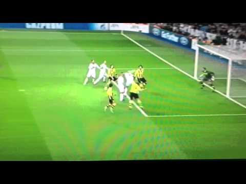 Pepe Goal / Real Madrid vs B.Dortmund 1-1 / 06-11-2012