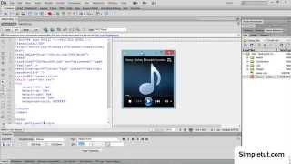 Download Lagu How to add a HTML5 MP3 Player to your website - Simple Dreamweaver Tutorial Gratis STAFABAND