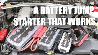 Best Battery Jump Pack? Affordable & Reliable - Noco Genius Boost - PerformanceCars