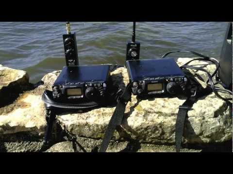 Wonder Wand verse Miracle Whip QRP Antenna.MOV