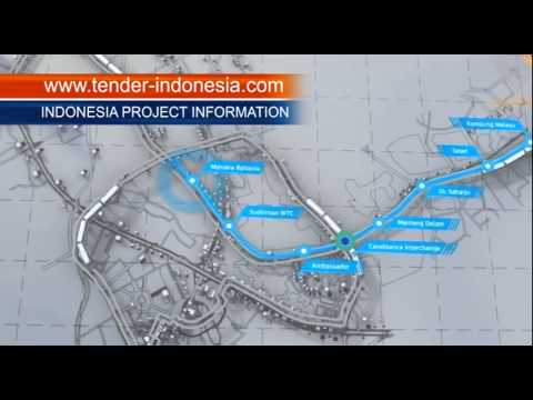 Indonesia Business Today - JAKARTA MRT PROJECT PROGRES 2015 by TENDER INDONESIA