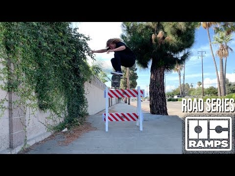 A-Frame Construction Barricade - Road Series by OC Ramps