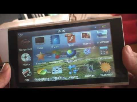 Navigatore satellitare GPS cinese NS345 WinCE IGO8 - Recensione