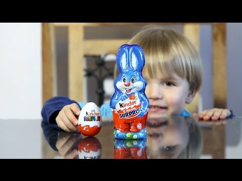 Kinder Surprise Bunny vs Kinder Surprise Egg