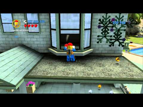 LEGO City Undercover 100% Guide: Cherry Tree Hills [Overworld Area]: All Collectibles