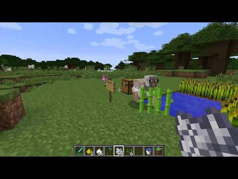 Minecraft 1.7.2 MOD SUPER HADAS CHACHISPISTACHIS!