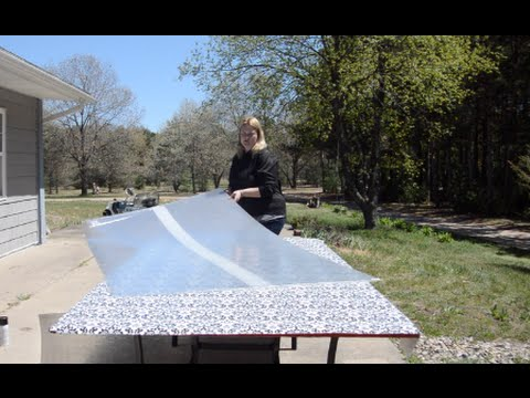 How to Repair a Shattered Glass Patio Table
