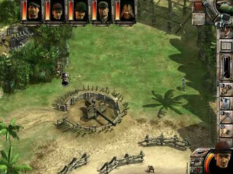 Commandos 2 Men Of Courage walkthrough: Guns of Savo Island(part 1)