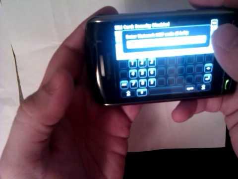 unlock Blackberry storm 9530 9550