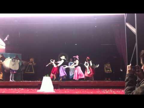 Baile 6-A colegio eagle school antofagasta 2012