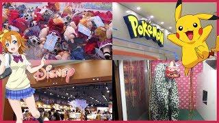 Japan Adventures | DAY THREE | Ikebukero, Pokemon Centre, Disney Store, Milky Way Cafe